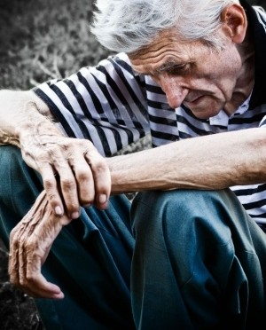 Elder Abuse and Neglect, Depressed Man
